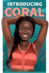 Enell Sports Bra Coral-thumb