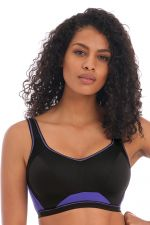 Epic Crop Top Sports Bra Electric Black