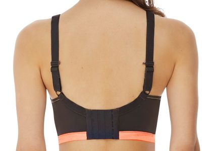 Freya Active Epic Crop Top Sports Bra Digital Vision Underwired padded sports bra with convertible straps 65-90, D-K AC4004-DIN