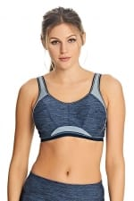 Epic Crop Top Sports Bra Total Eclipse