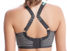 Freya Active Epic Crop Top Sports Bra Carbon-thumb Underwired padded sports bra with convertible straps 65-90, D-K AA4004-CON