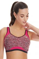 Epic Crop Top Sports Bra Cherry Glow
