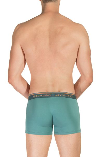 Obviously EveryMan Boxer Brief Teal Boxer brief with 3