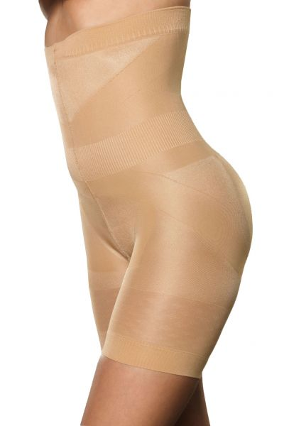 Evolution Shapewear High Waist Short Beige 140 den