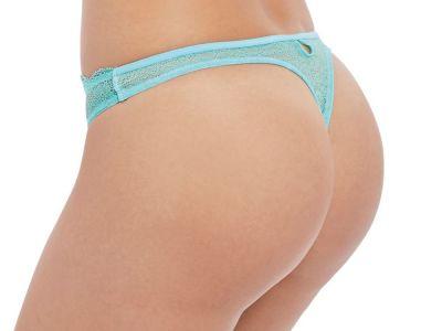 Fancies Thong Aquamarine