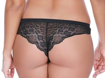 Freya Fancies Brazilian Black  XS-L AA1017BLK