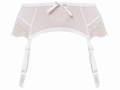 Fancies Suspender White
