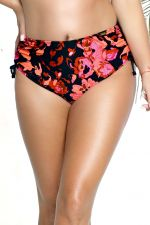 Fidzi Ruched Side Bikini Brief Floral