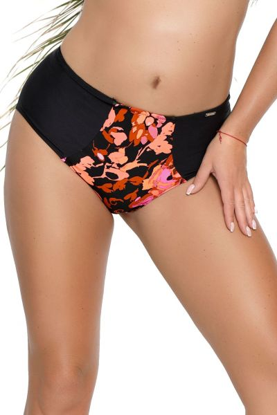 Nessa Swimwear Fidzi High Rise Bikini Brief Floral  S-3XL NO1