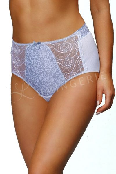 Filippe High Waist Brief Grey Print