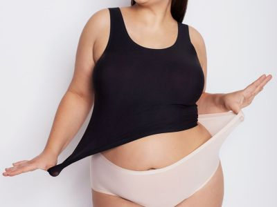 Julimex Flexi One Camisole Black  One size / S-XL FLEXI-CAMI-CZA