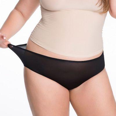 Julimex Flexi One Maxi Panty Black  One size / S-2XL FLEXI-MAXI-CZA