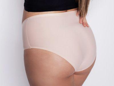Julimex Flexi One Plus Size Maxi Panty Beige  One size / 2XL-5XL FLEXI-PLUS-MAXI-BEZ