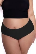 Flexi One Plus Size Maxi Panty Black