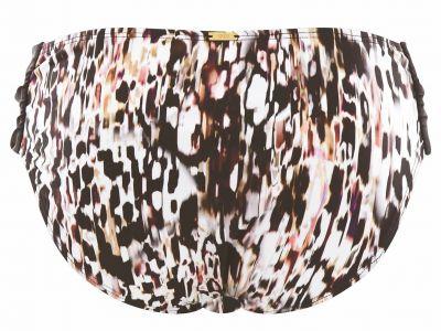 Panache Swimwear Florentine Gather Bikini Pant Animal Print  34-46 SW1059-Anim