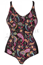 Flower Swimsuit Multicoloured Print