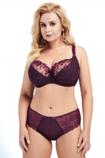 Francheska Soft Bra Purple