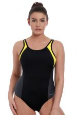 Freestyle UW Swimsuit Black Zest