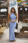 Freya Swim Beach Hut Maxi Dress Blue Moon-thumb Maxi dress with a thin belt S-XL AS6799-BMN