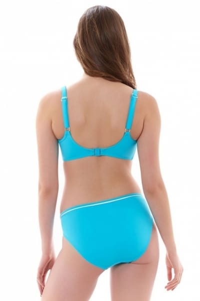 Deco Bikini Top Aqua
