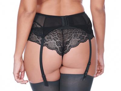 Freya Fancies Suspender Black  S-XL AA1019-BLK