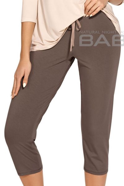 Babella Gabriella Pyjama Set Beige Mocca 2 piece pyjama set M/38-40 - 4XL/58-60
