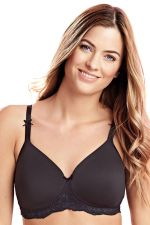 Georgia T-shirt Bra Black