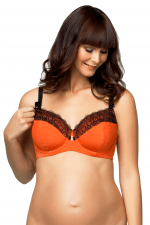 Ginger Macaroon Underwired Nursing Bra