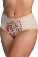 Heavenly Blossom Brief Red Floral
