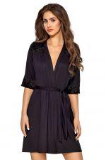 Helen Dressing Gown Black