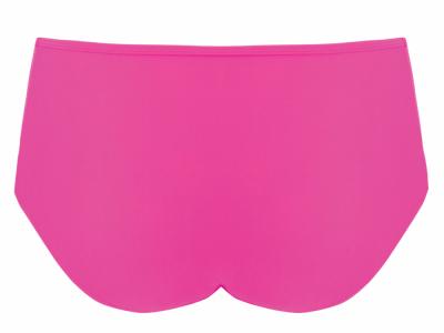 Hi Voltage Bikini Brief Shocking Pink Bikini briefs with mesh inserts at the front 34-48 CS4165