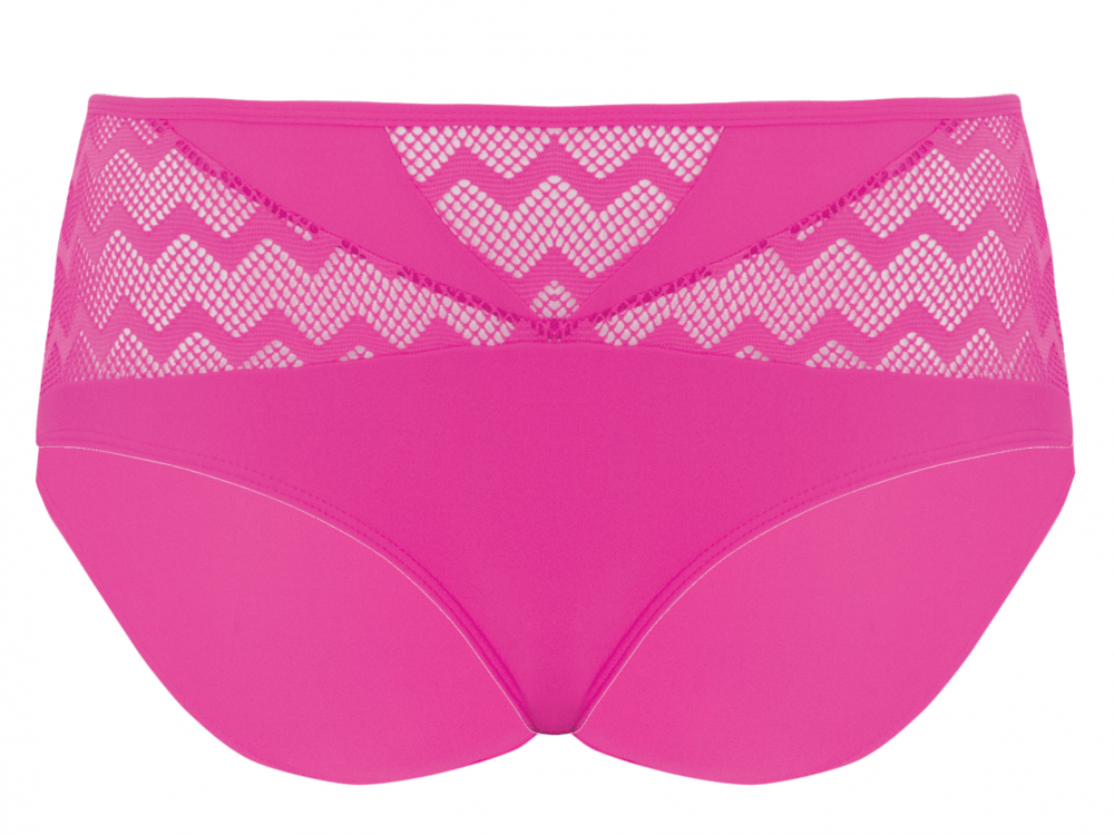 Curvy Kate CS4165 Hi Voltage Bikini Brief in Shocking Pink