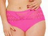 Hi Voltage Bikini Brief Shocking Pink-thumb Bikini briefs with mesh inserts at the front 34-48 CS4165