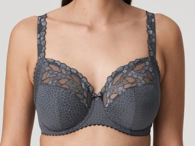 PrimaDonna Hyde Park UW Full Cup Bra Gris City Underwired, non-padded full cup bra 70-110, D-I 0163200-GCT
