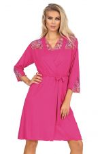 Hypnose Dressing Gown Fuchsia