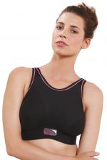 Impact Free Wirefree Sports Bra Black G-K cups