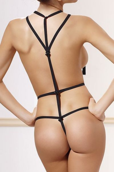 Anaïs Inez Body Harness Black