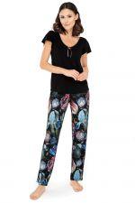 Ingrid Pyjama Set Black Floral