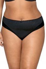 Jacquard Briefs Black