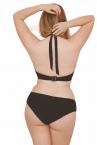 Jetty Halterneck Bikini Bra Black-thumb