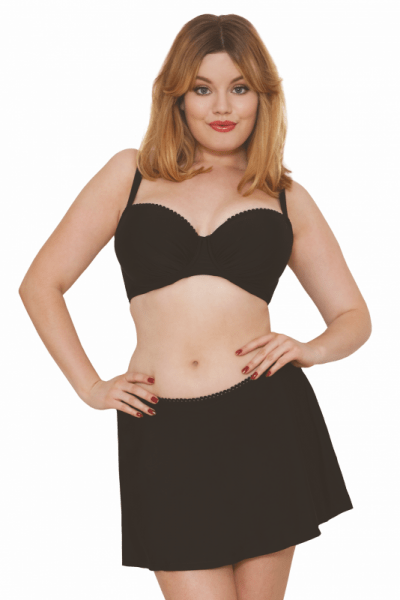 Curvy Kate Swimwear Jetty Bikini Skirt Black Skirtini with briefs 34-48 CS3555