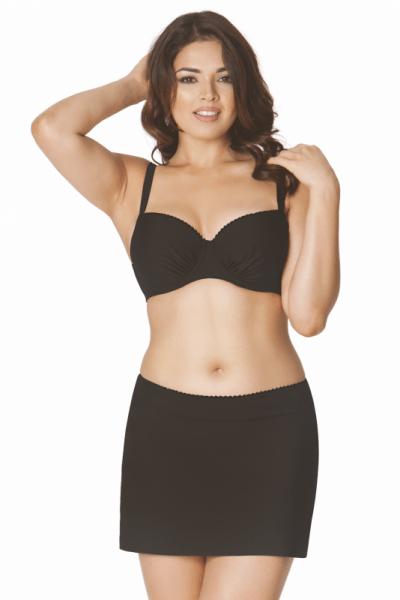 Jetty Bikini Skirt Black