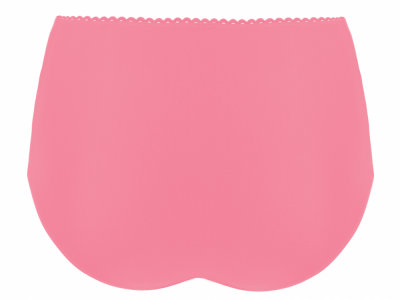Jetty High Waist Bikini Brief Flamingo