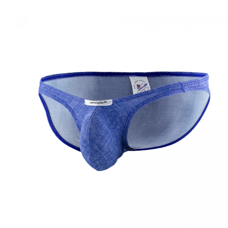 b2d2aad6be Joe Snyder Underwear Bulge Full Bikini Brief Denim Blue BUL04 ...