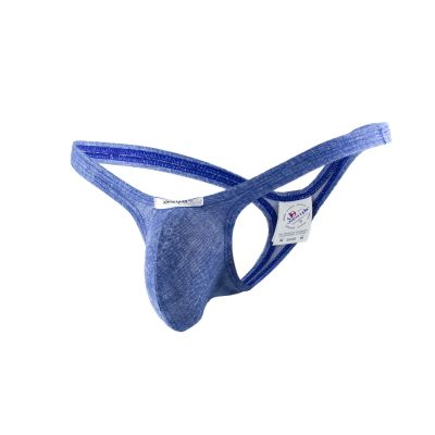 Joe Snyder Underwear Bulge Thong Denim Blue BUL02 Thong 80% Polyamide, 20% Lycra<br> S-XL BUL02_bluemex