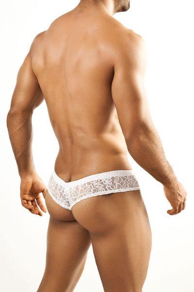 Joe Snyder Underwear Shining Mini Cheek brief White Lace JS22 Mini Cheek brief 80% Polyamide, 20% Lycra S-XL JS22_whitelace