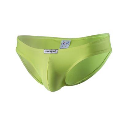 Joe Snyder Underwear Shining Bikini Brief Yellow JS01 (POL) Bikini brief 80% Polyamide, 20% Lycra S-XL JS01_amarillo