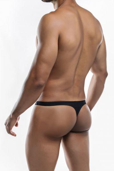 Joe Snyder Underwear Shining Thong black JS03 (POL) Thong 80% Polyamide, 20% Lycra S-XL JS03_blackpol