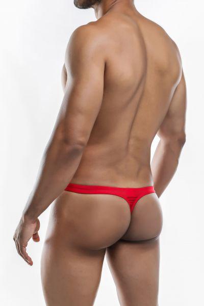 Joe Snyder Underwear Shining Thong red JS03 (POL) Thong 80% Polyamide, 20% Lycra S-XL JS03_redpol