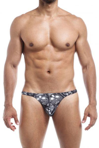 Joe Snyder Underwear Shining Thong Skulls JS03 Thong 80% Polyamide, 20% Lycra S-XL JS03_skulls